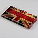 Custodia in Pelle Huawei Ascend P6 La bandiera del Regno Unito Bumper - Misto