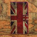 Custodia in Pelle Huawei Ascend Y300 U8833 La bandiera del Regno Unito Bumper - Misto