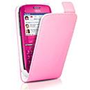 Custodia in Pelle Nokia C3-00 Cover Bumper - Rosso