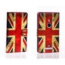 Custodia in Pelle Nokia Lumia 925 La bandiera del Regno Unito Bumper - Misto