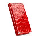 Custodia in Pelle Samsung Galaxy Grand Duos i9080 i9082 Coccodrillo Cover - Rosso