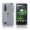 Custodia LG P920 Optimus 3D S-Line Silicone Bumper - Bianco