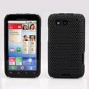 Custodia Motorola Defy MB525 Rete Cover Rigida Guscio - Nero