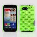 Custodia Motorola Defy MB525 Rete Cover Rigida Guscio - Verde