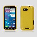 Custodia Motorola Defy MB525 Silicone Bumper - Giallo