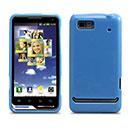Custodia Motorola Motoluxe XT615 Silicone Case - Luce Blu