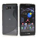 Custodia Motorola Razr HD XT926 S-Line Silicone Bumper - Grigio