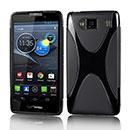 Custodia Motorola Razr HD XT926 Silicone Case - Nero
