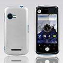 Custodia Motorola XT502 Plastica Cover Rigida Guscio - Bianco