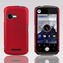 Custodia Motorola XT502 Plastica Cover Rigida Guscio - Rosso
