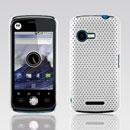 Custodia Motorola XT502 Rete Cover Rigida Guscio - Bianco
