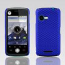 Custodia Motorola XT502 Rete Cover Rigida Guscio - Blu