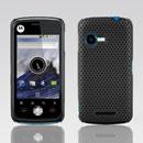 Custodia Motorola XT502 Rete Cover Rigida Guscio - Nero