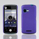 Custodia Motorola XT502 Rete Cover Rigida Guscio - Porpora