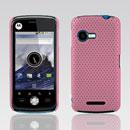 Custodia Motorola XT502 Rete Cover Rigida Guscio - Rosa