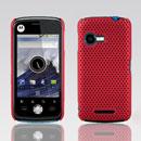 Custodia Motorola XT502 Rete Cover Rigida Guscio - Rosso