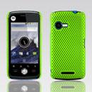 Custodia Motorola XT502 Rete Cover Rigida Guscio - Verde