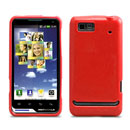 Custodia Motorola XT615 Silicone Case - Rosso