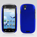 Custodia Motorola XT800 Plastica Cover Rigida Guscio - Blu