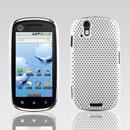 Custodia Motorola XT800 Rete Cover Rigida Guscio - Bianco