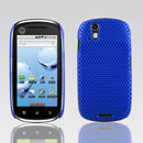 Custodia Motorola XT800 Rete Cover Rigida Guscio - Blu