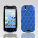 Custodia Motorola XT800 Rete Cover Rigida Guscio - Luce Blu