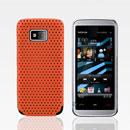 Custodia Nokia 5530 Rete Cover Rigida Guscio - Arancione