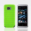 Custodia Nokia 5530 Rete Cover Rigida Guscio - Verde