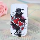 Custodia Nokia C3-00 Amore Silicone Case Astuccio - Nero