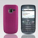 Custodia Nokia C3-00 Rete Cover Rigida Guscio - Fucsia
