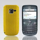 Custodia Nokia C3-00 Rete Cover Rigida Guscio - Giallo