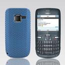 Custodia Nokia C3-00 Rete Cover Rigida Guscio - Luce Blu