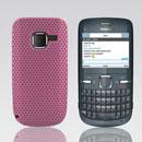 Custodia Nokia C3-00 Rete Cover Rigida Guscio - Rosa