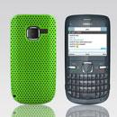 Custodia Nokia C3-00 Rete Cover Rigida Guscio - Verde