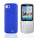 Custodia Nokia C3-01 Rete Cover Rigida Guscio - Blu
