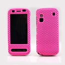Custodia Nokia C6-00 Rete Cover Rigida Guscio - Rosa