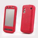Custodia Nokia C6-00 Rete Cover Rigida Guscio - Rosso