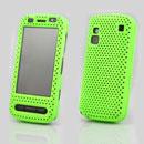 Custodia Nokia C6-00 Rete Cover Rigida Guscio - Verde