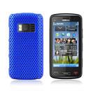 Custodia Nokia C6-01 Rete Cover Rigida Guscio - Blu