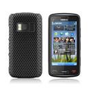 Custodia Nokia C6-01 Rete Cover Rigida Guscio - Nero