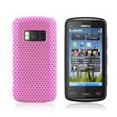 Custodia Nokia C6-01 Rete Cover Rigida Guscio - Rosa
