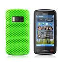 Custodia Nokia C6-01 Rete Cover Rigida Guscio - Verde