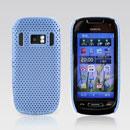 Custodia Nokia C7 Rete Cover Rigida Guscio - Luce Blu