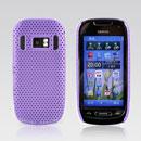 Custodia Nokia C7 Rete Cover Rigida Guscio - Porpora