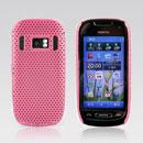 Custodia Nokia C7 Rete Cover Rigida Guscio - Rosa