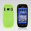 Custodia Nokia C7 Rete Cover Rigida Guscio - Verde