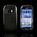 Custodia Nokia C7 TPU Diamante Silicone Case - Grigio