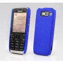 Custodia Nokia E52 Rete Cover Rigida Guscio - Blu