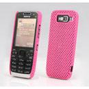 Custodia Nokia E52 Rete Cover Rigida Guscio - Rosa