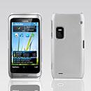 Custodia Nokia E7 Plastica Cover Rigida Guscio - Bianco